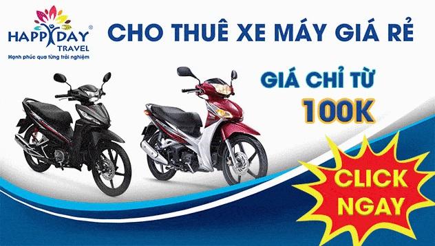 Dịch vụ thuê xe máy Đà Lạt – thuê xe máy giá rẻ