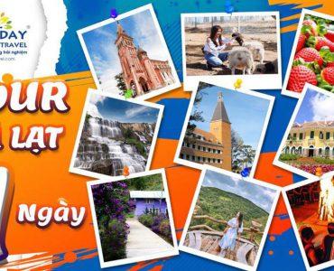 Top Tour Đà Lạt 1 ngày – Happy Day Travel